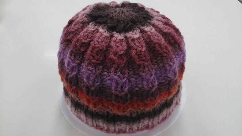 綵絵 帽子