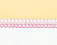 4本糸縁かがり