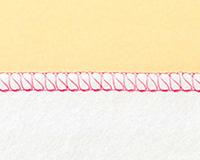 3本糸縁かがり